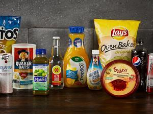 PepsiCo global product portfolio lineup (out of date)