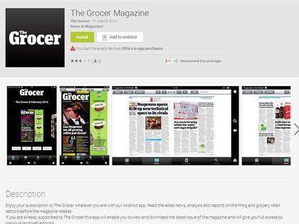 Grocer Magazine Android