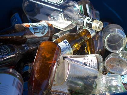 recycling glass bottles credit: Picture courtesy of Flickr user cogdogblog under the Creative Commons Licence 2.0
