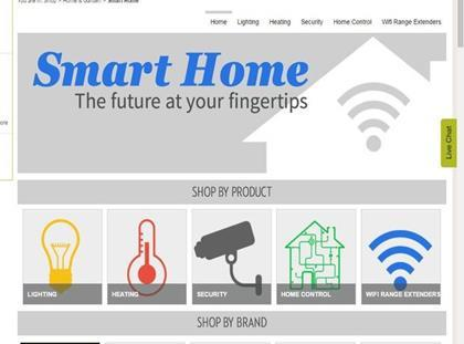 Ocado Unveils New Smart Home Tech Section