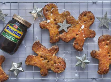 Branston Pickle Gingerbread Man