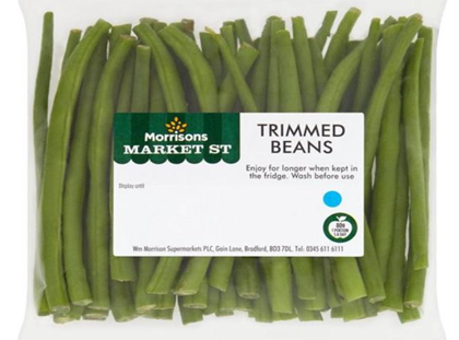 Morrisons green beans recalled after customers find metal spikes in veg