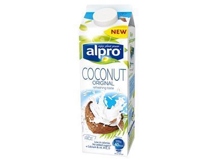Alpro extends brand into coconut milk for Alpro coconut cuisine