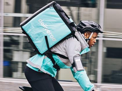 "Deliveroo MD Dan Warne hailed the ruling as a ""victory for all riders"""