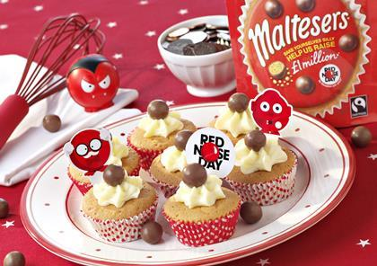 Easy Red Nose Day Cake Ideas