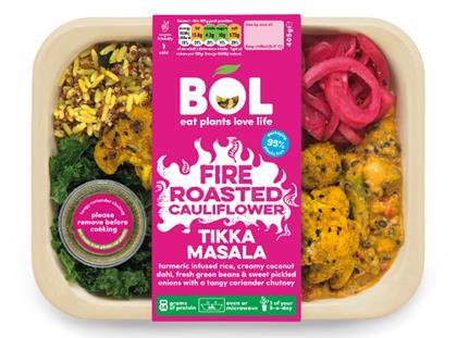 Bol Foods dinner box