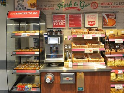 Morrisons opens first travel c store in nottingham for Cuisine to go