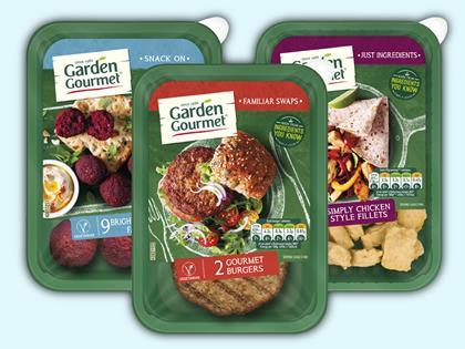 nestls meat free garden gourmet brand set for uk launch - Garden Gourmet