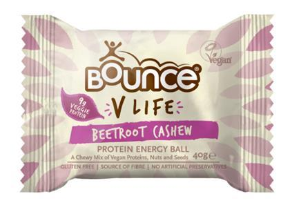 Bounce V Life Beetroot Cashew variant