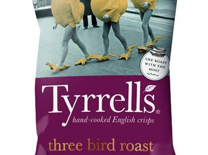 Tyrrells Three Bird Roast Crisps