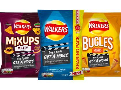 walkers movie nights on-pack promotion