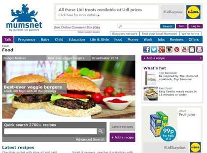 Lidl announces mumsnet sponsorship deal mumsnet lidl screengrab forumfinder Images