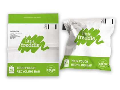 Little Freddie recycling bag