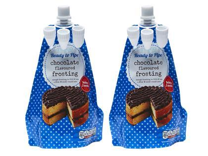 Tesco ready to pipe chocolate flavoured frosting solutioingenieria Images