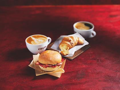Costa breakfast meal deal