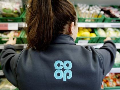 co-op rebrand staff uniform