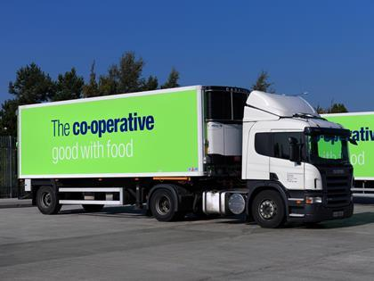 the co op group plays down lorry driver strike disruption