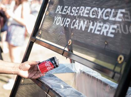 Coca-Cola to double recycled plastic in British drinks bottles to 50%