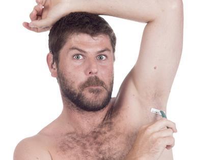 Should men shave body hair