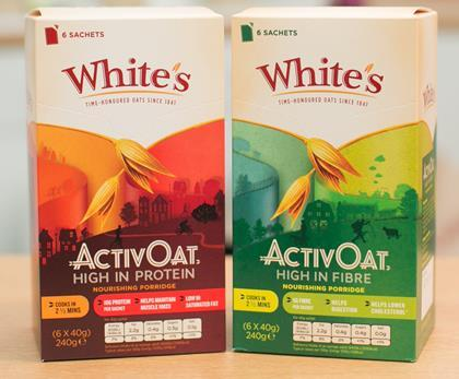 cereal supplier White's Oats has added high-protein and high-fibre ...