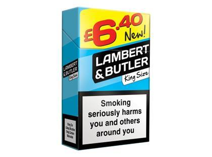 How much are cigarettes Kent in duty free UK
