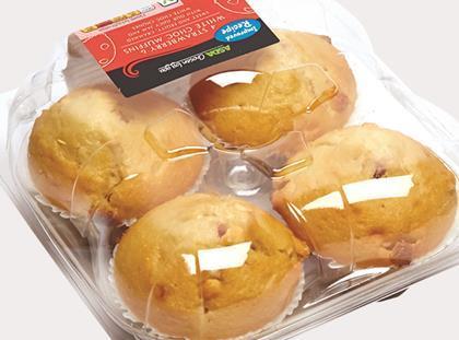 Asda White Chocolate Muffins