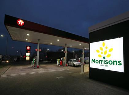 Morrisons cut the price of petrol