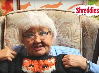 Shreddies Knitting Nana
