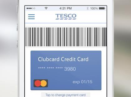 Tesco digital wallet