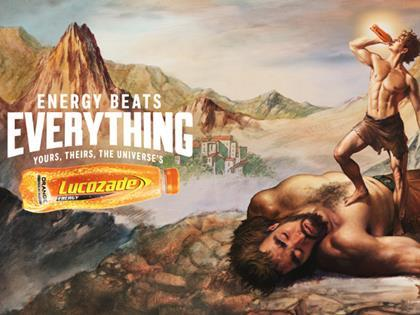 Lucozade Energy ad