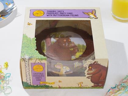 Park Cakes Rolls Gruffalo Party Cake Into Tesco Stores