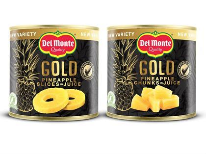 Del Monte Launches Premium Gold Variety Tinned Pineapple