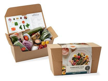 Looks like Amazon is testing meal kits