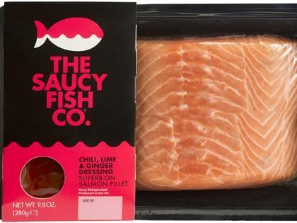 The Saucy Fish Co Salmon