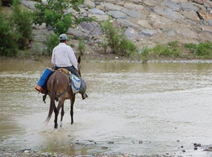 Climate change floods in Peru