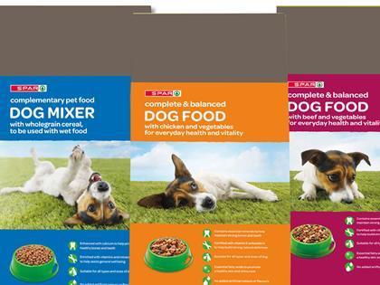 Dog Food At Spar