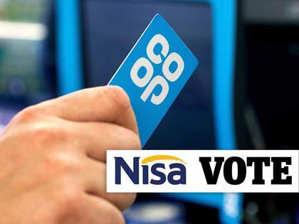 Nisa members narrowly approve £143mln takeover by Co-op