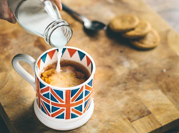 British Milk tea