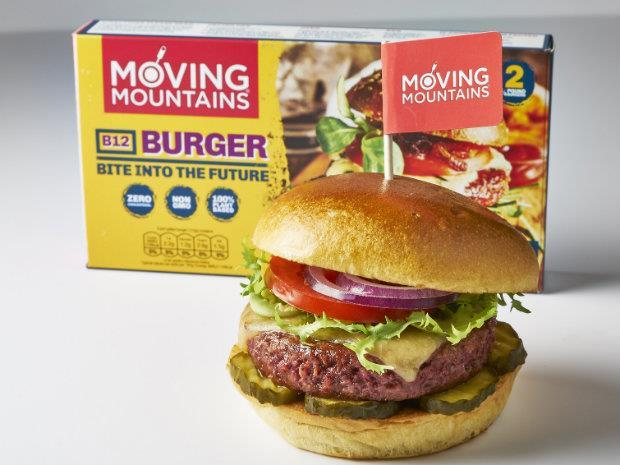 Moving Mountains meatless burger