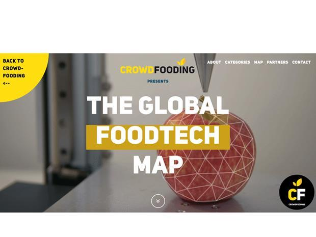 Crowdfooding food tech map