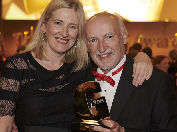 Cathryn Higgs and Iain Ferguson Grocer Gold