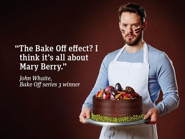 John Whaite with quote