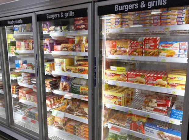 focus on frozen food  28 may