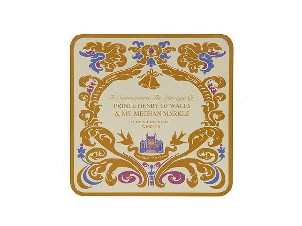 M&S royal wedding tin