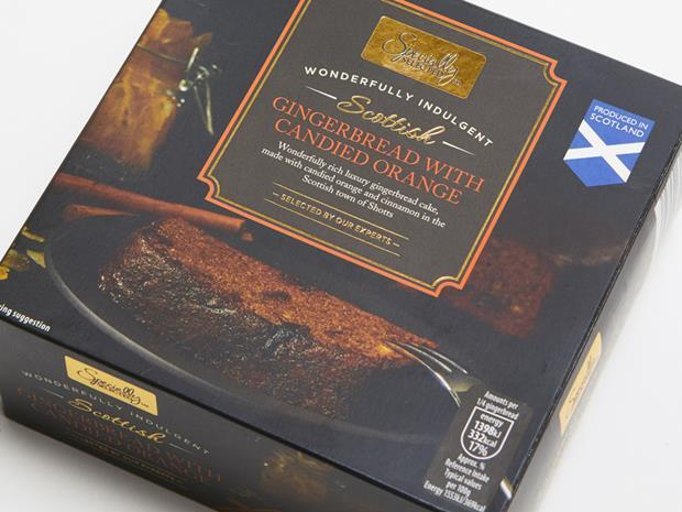 Aldi Scottish Gingerbread with Candied Orange_0001