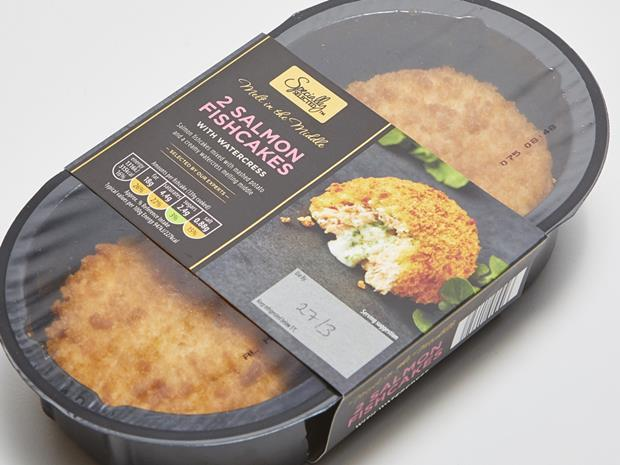 Aldi Specially Selected  Salmon Fishcakes