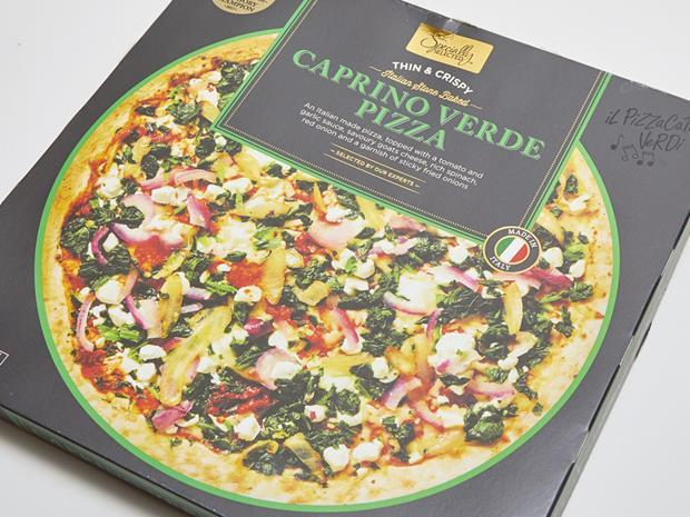 Aldi Specially Selected Caprino Verde Pizza_0001