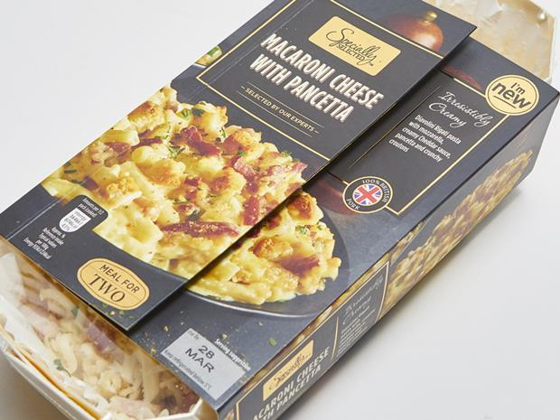 Aldi Specially Selected Macaroni Cheese with Pancetta copy