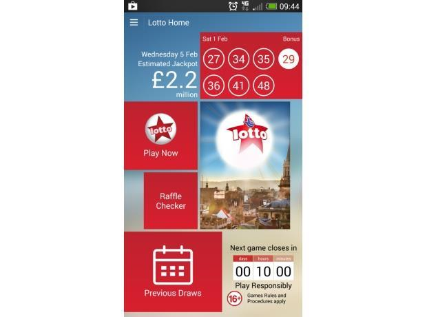 lotto app android
