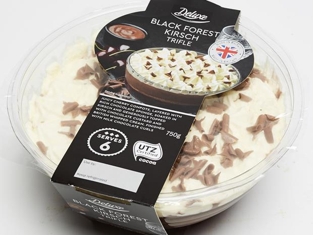 Lidl Black Forest Kirsch Trifle copy